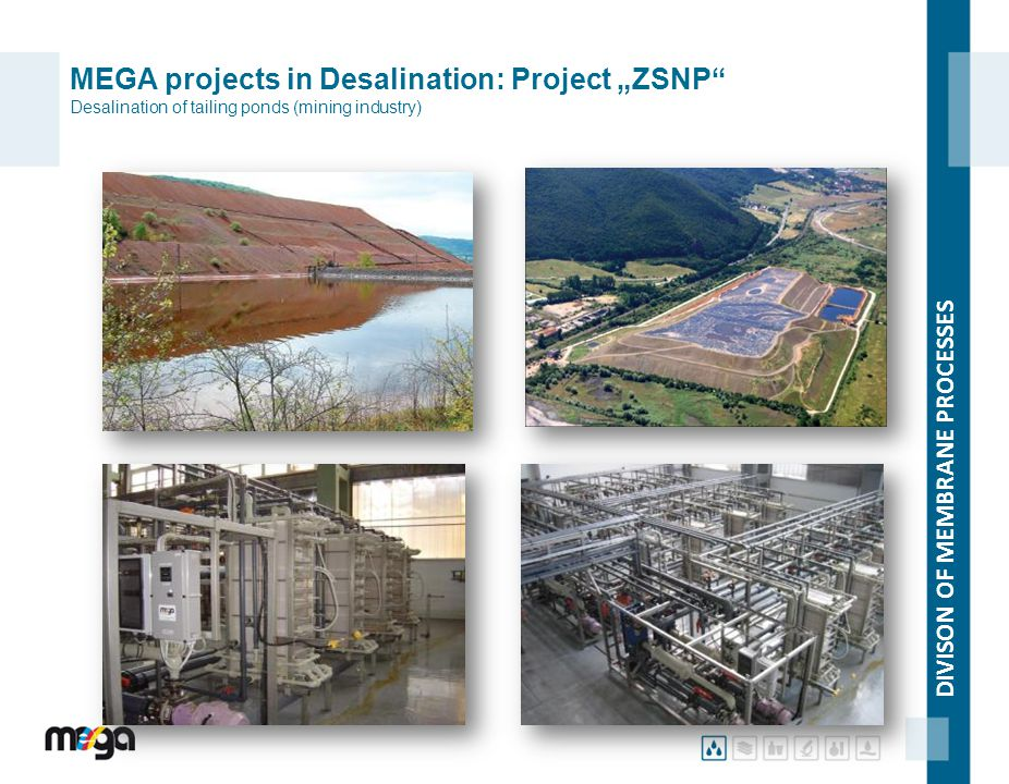 "MEGA projects in Desalination: Project ""ZSNP Desalination of tailing ponds (mining industry)"
