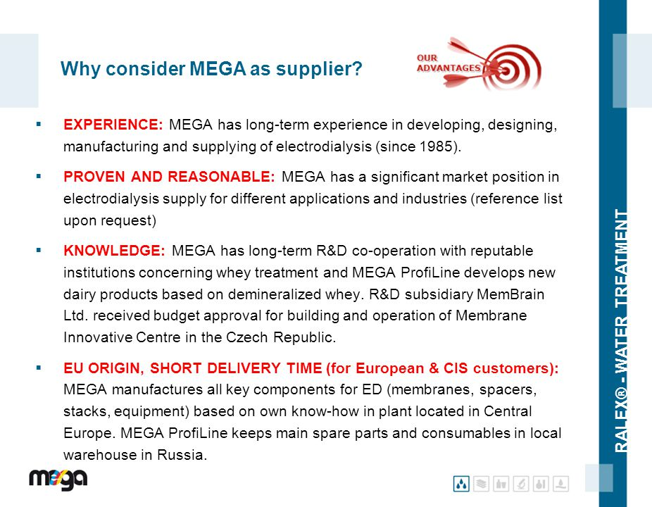 Why consider MEGA as supplier
