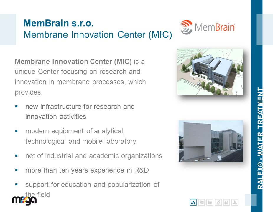 MemBrain s.r.o. Membrane Innovation Center (MIC)
