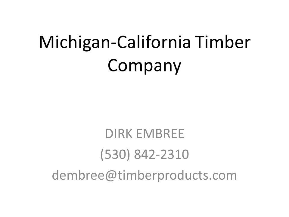 Michigan-California Timber Company