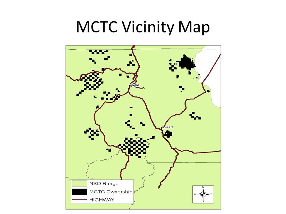 MCTC Vicinity Map