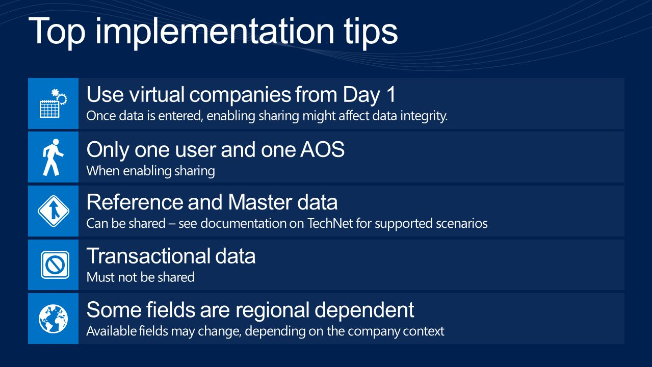 Top implementation tips
