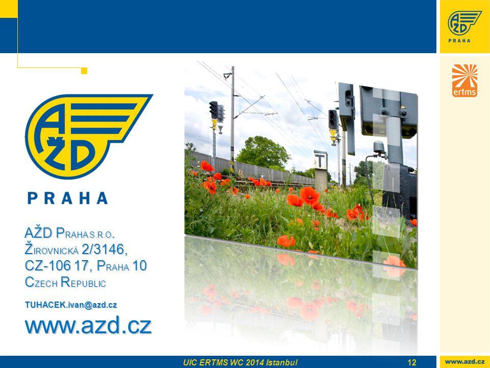 www.azd.cz AŽD PRAHA S.R.O. ŽIROVNICKÁ 2/3146,