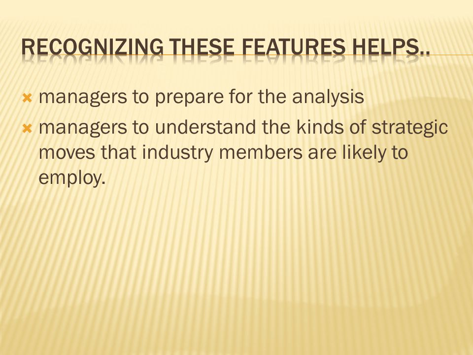 Recognizing these features helps..