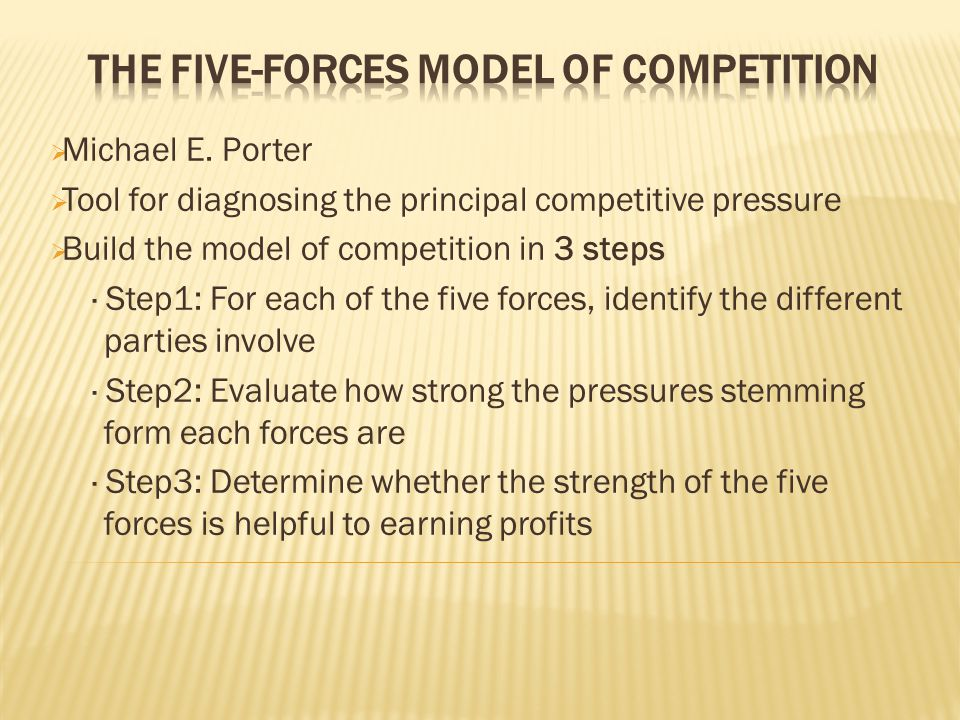 jacob 5 forces model of competition Csshe scées understanding universities in ontario canada: an industry analysis using porter's five forces framework james pringle ryerson university vealed that competition in ontario's higher education industry ( univer- public funds, canada and the rest of the world are feeling increased competition.