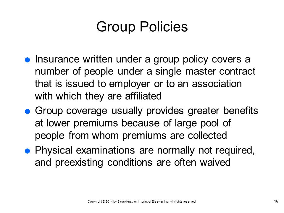 Group Policies