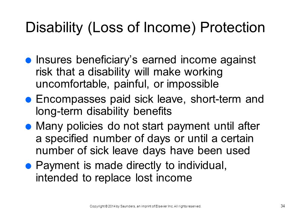 Disability (Loss of Income) Protection
