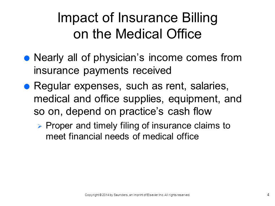 Impact of Insurance Billing on the Medical Office