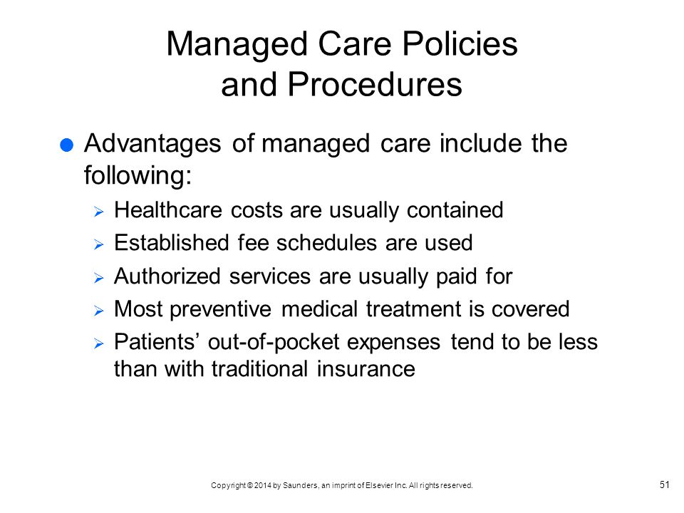Benefits & Disadvantages of Managed Health Care