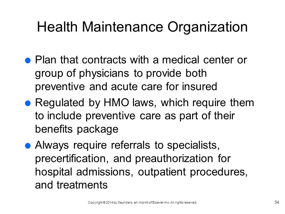 an essay on health maintenance organizations 5 examples of great health care management thomas h lee, md november 06, 2014 these organizations understand how critical co-location is to real teamwork.