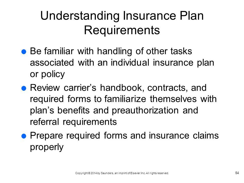 Understanding Insurance Plan Requirements