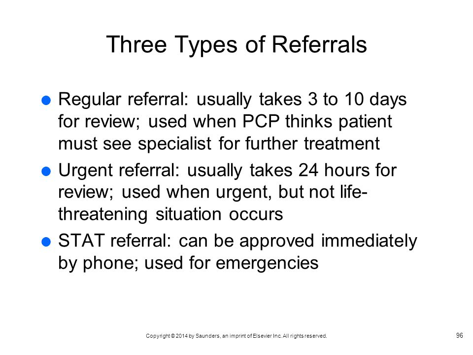 Three Types of Referrals
