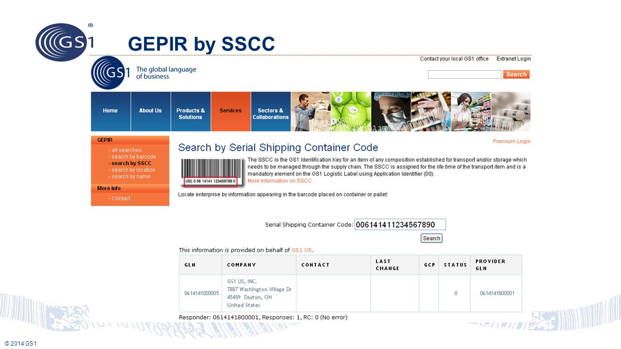 GEPIR by SSCC