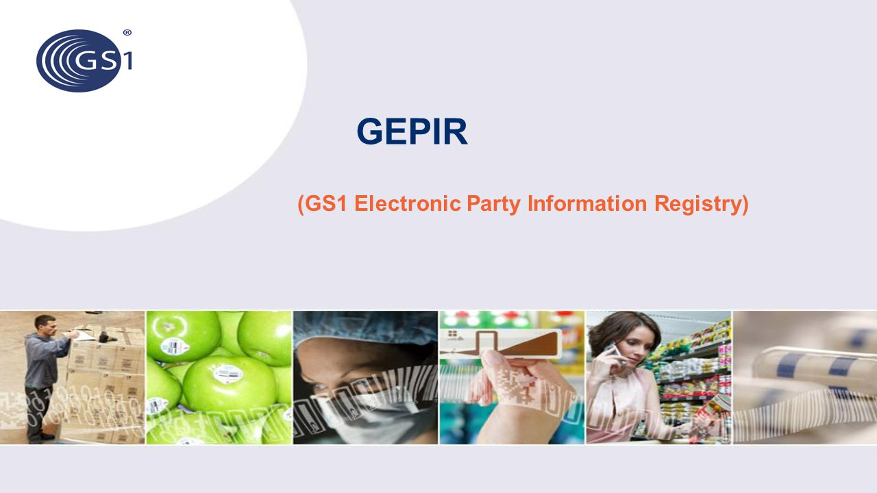 (GS1 Electronic Party Information Registry)