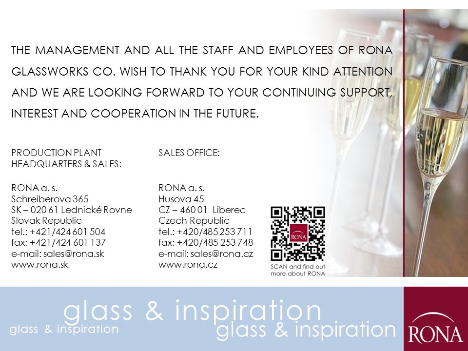 glass & inspiration glass & inspiration