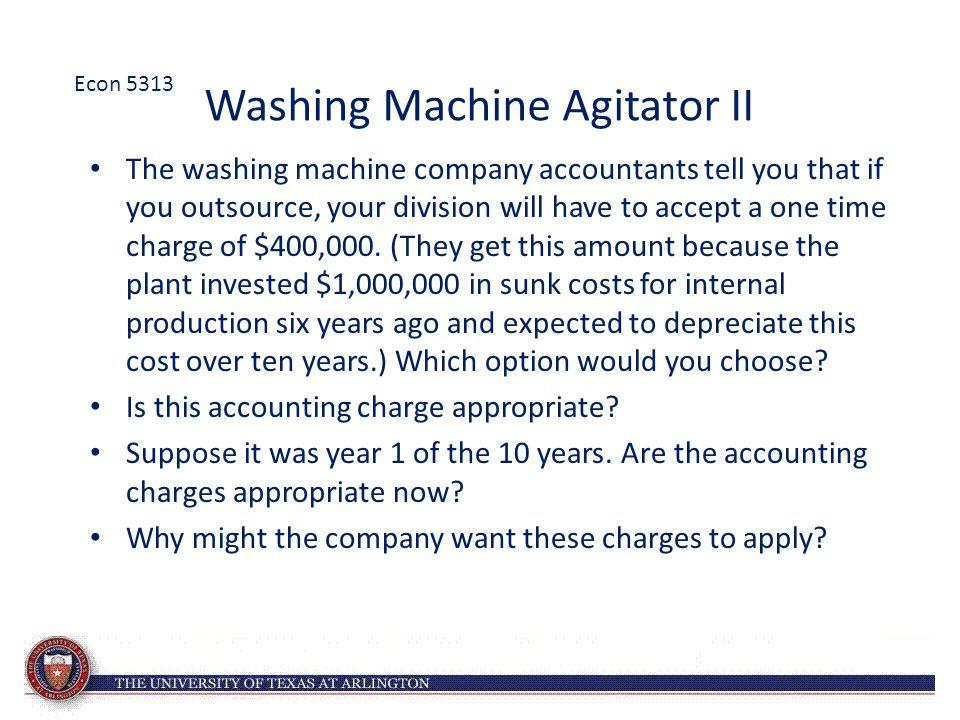 Washing Machine Agitator II