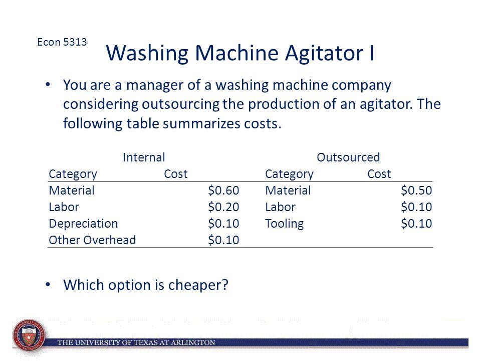 Washing Machine Agitator I