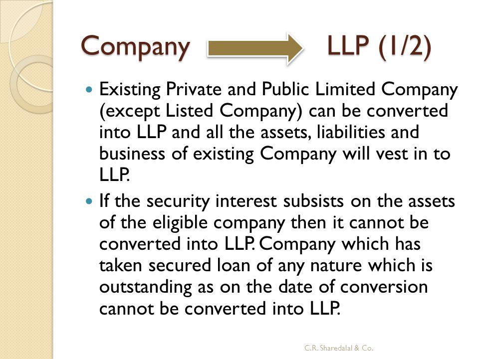 Company LLP (1/2)