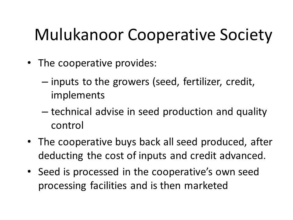 Mulukanoor Cooperative Society