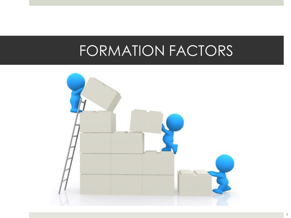 FORMATION FACTORS