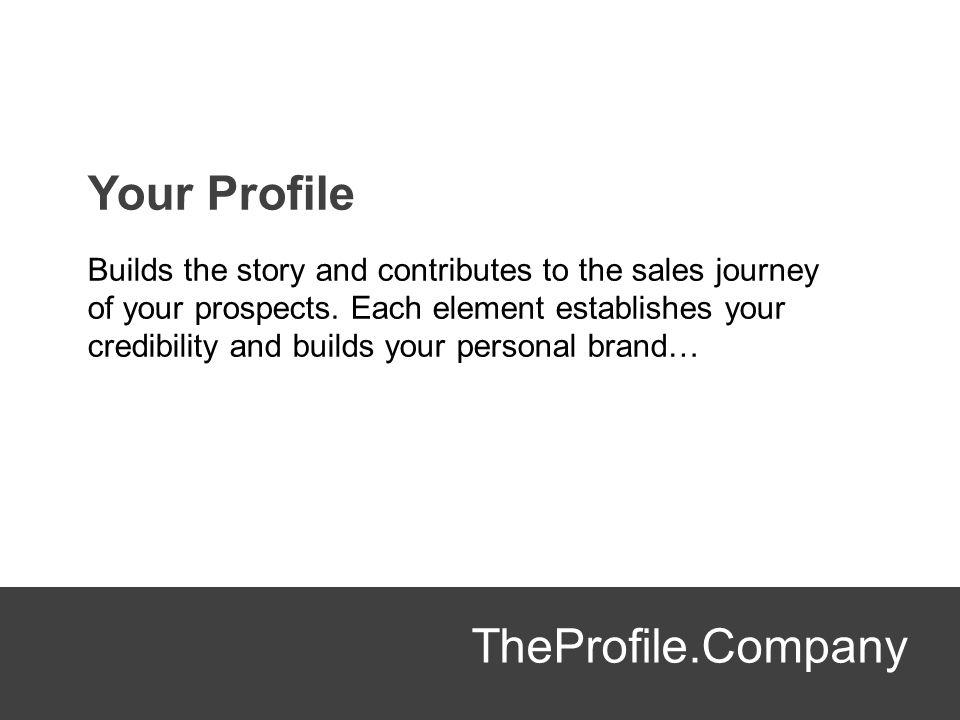 Your Profile TheProfile.Company
