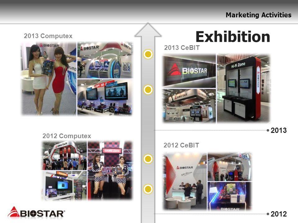 Exhibition 2013 Computex 2013 CeBIT 2013 2012 Computex 2012 CeBIT 2012
