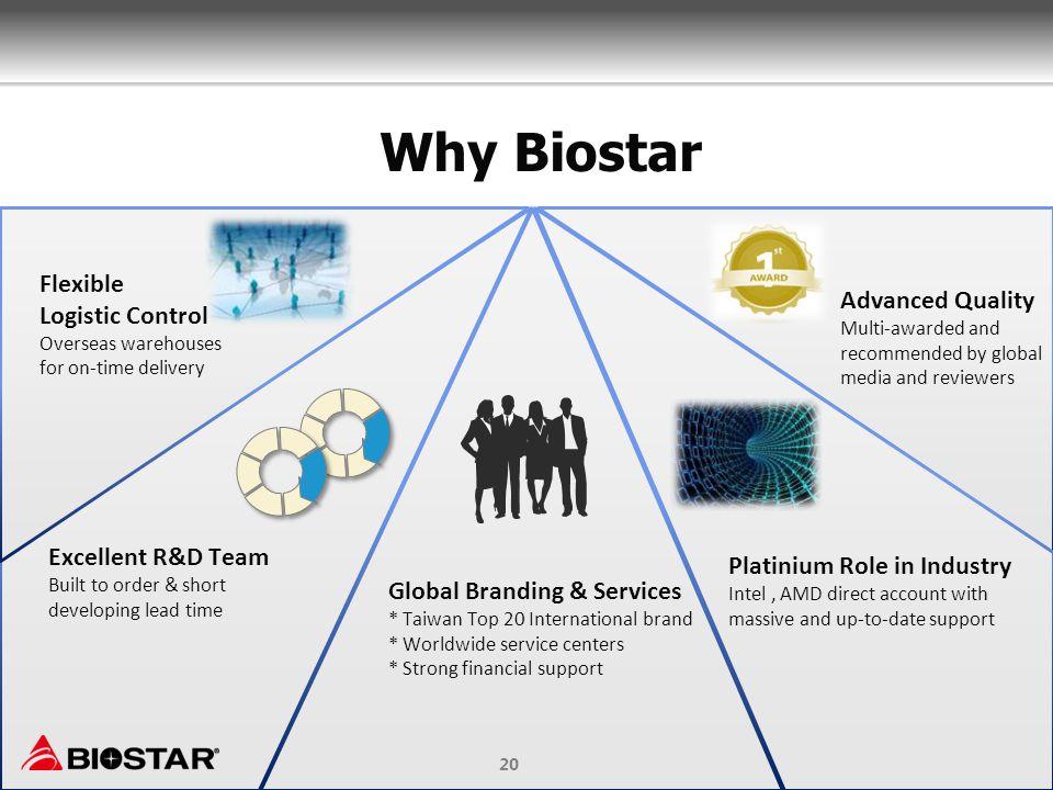 Why Biostar Flexible Logistic Control Advanced Quality