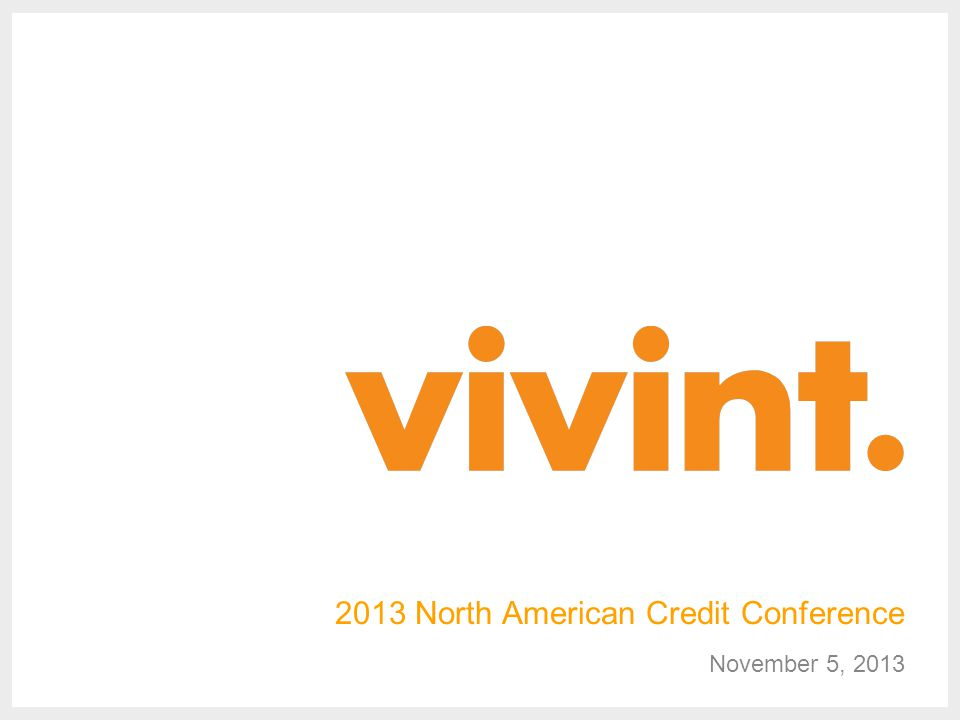 2013 North American Credit Conference