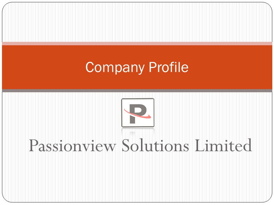 Passionview Solutions Limited