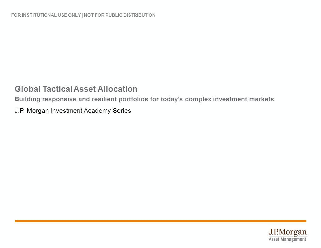 A history of asset allocation