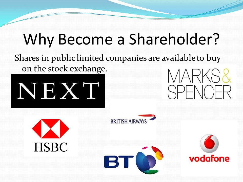 Why Become a Shareholder