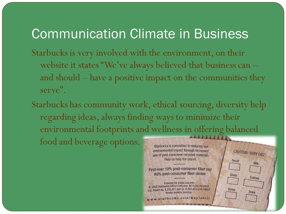 Communication Climate in Business
