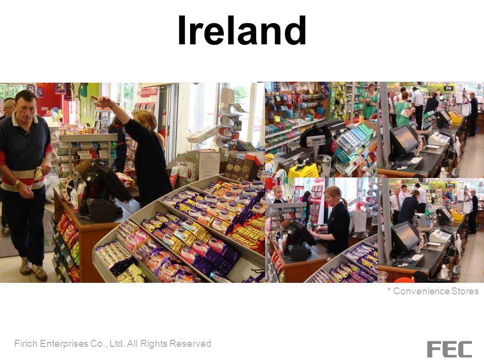 Ireland * Convenience Stores