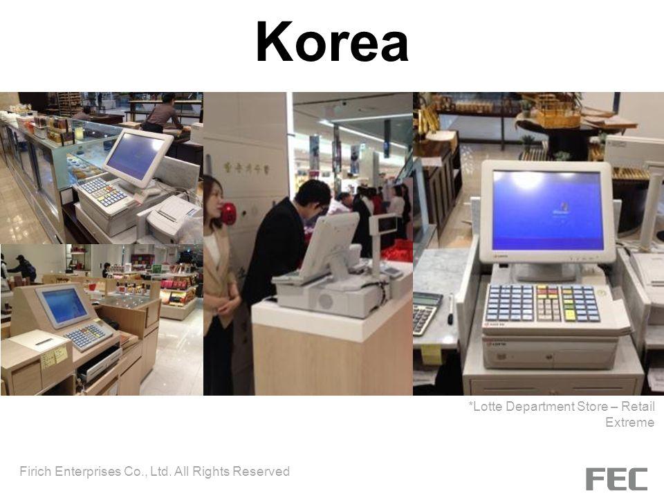 Korea *Lotte Department Store – Retail Extreme