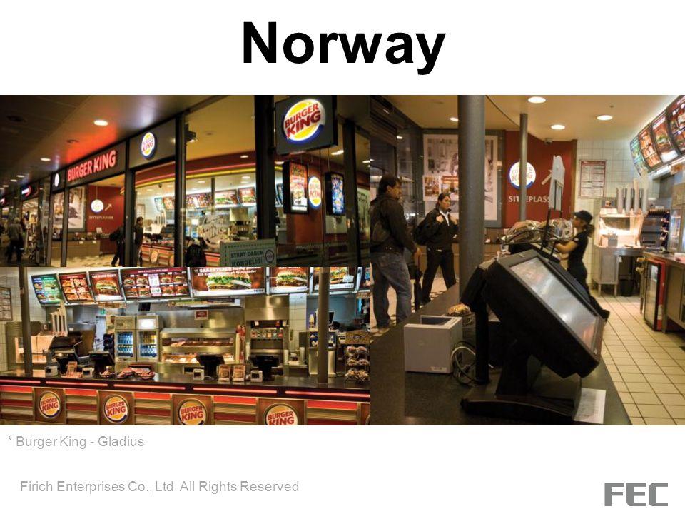 Norway * Burger King - Gladius