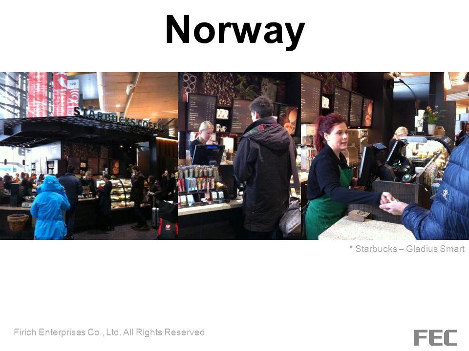 Norway * Starbucks – Gladius Smart