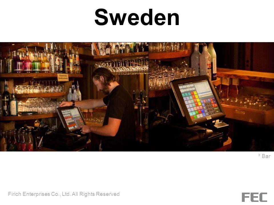 Sweden * Bar Firich Enterprises Co., Ltd. All Rights Reserved