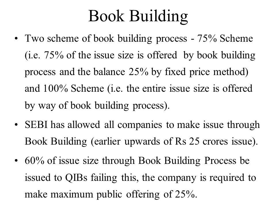 Book Building