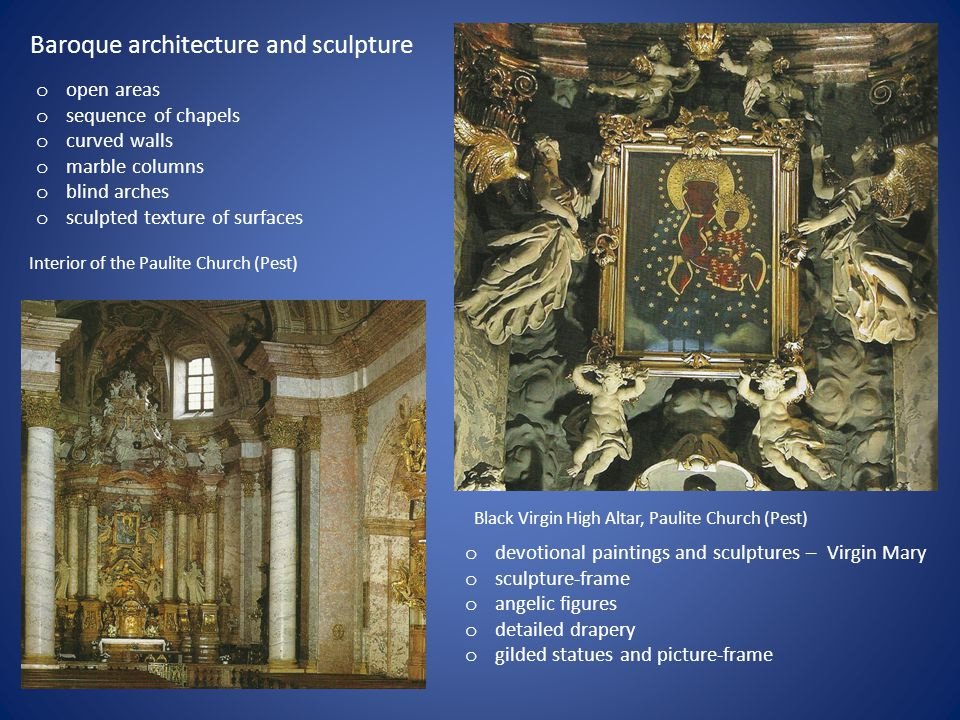 Baroque architecture and sculpture