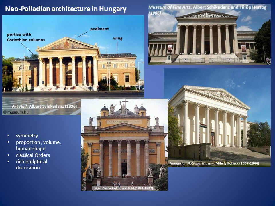 Neo-Palladian architecture in Hungary