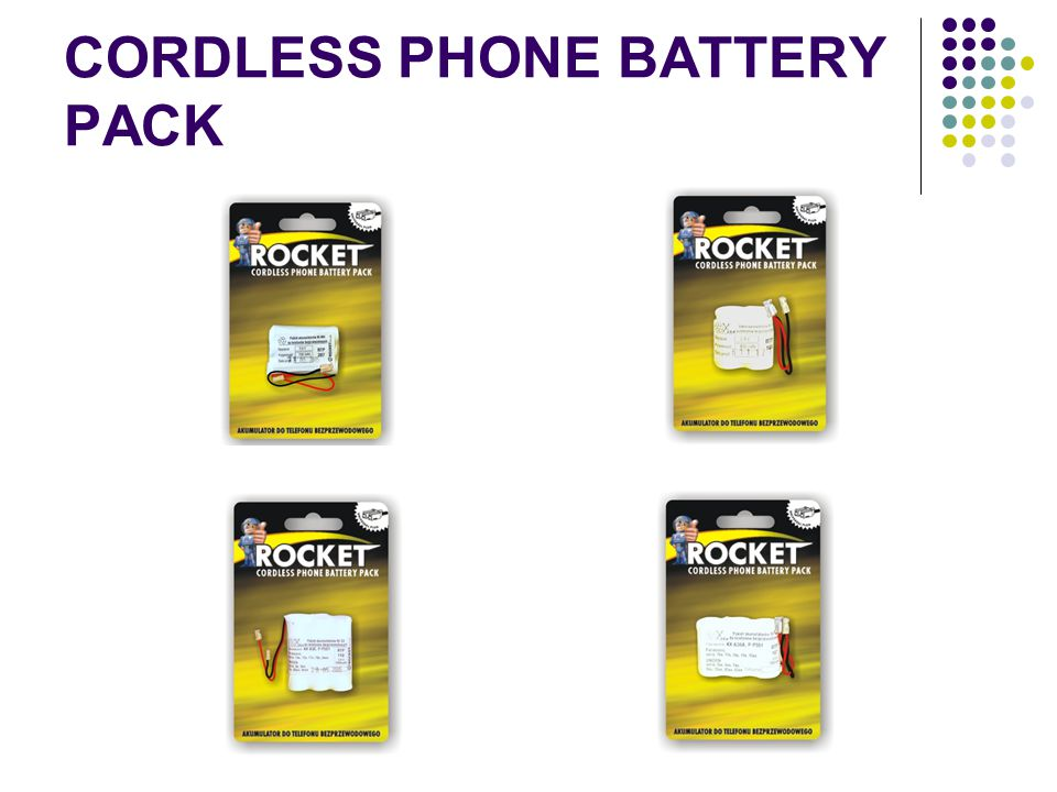 CORDLESS PHONE BATTERY PACK