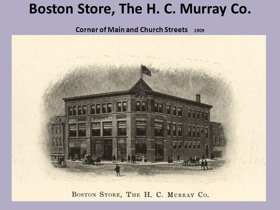 Boston Store, The H. C. Murray Co