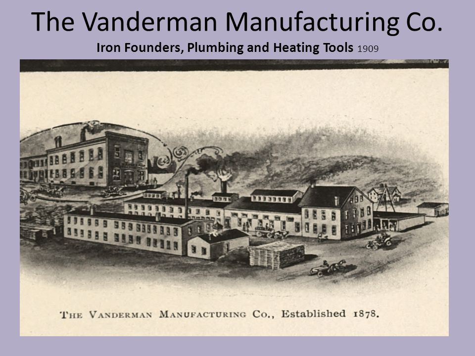 The Vanderman Manufacturing Co