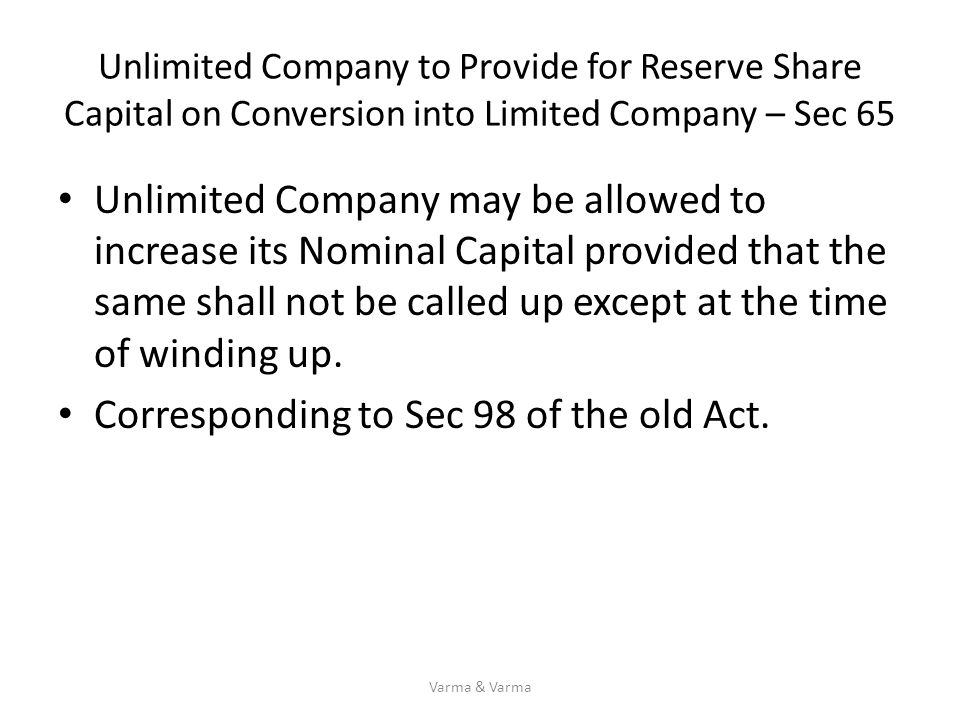 Corresponding to Sec 98 of the old Act.