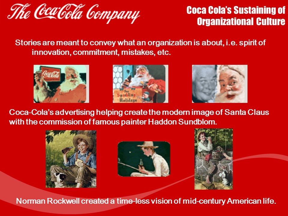 Coca Cola's Sustaining of Organizational Culture