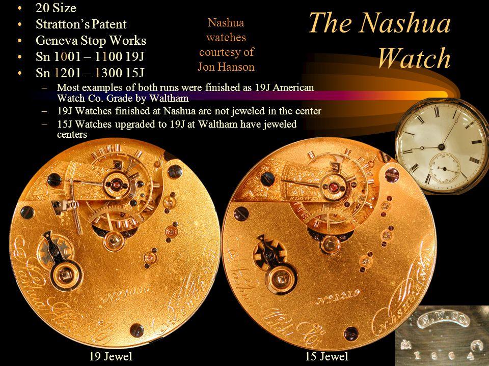 Nashua watches courtesy of Jon Hanson