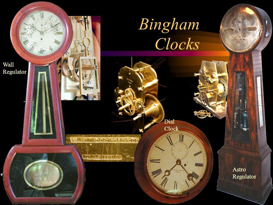 Bingham Clocks Wall Regulator Dial Clock Astro Regulator