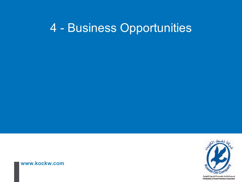 4 - Business Opportunities