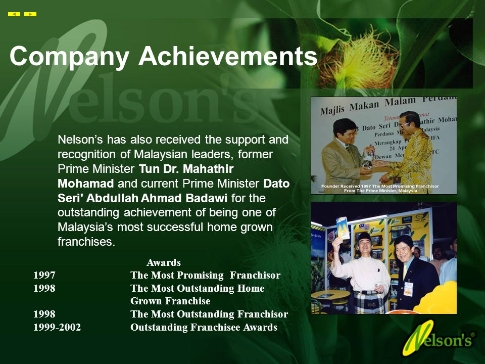 Company Achievements
