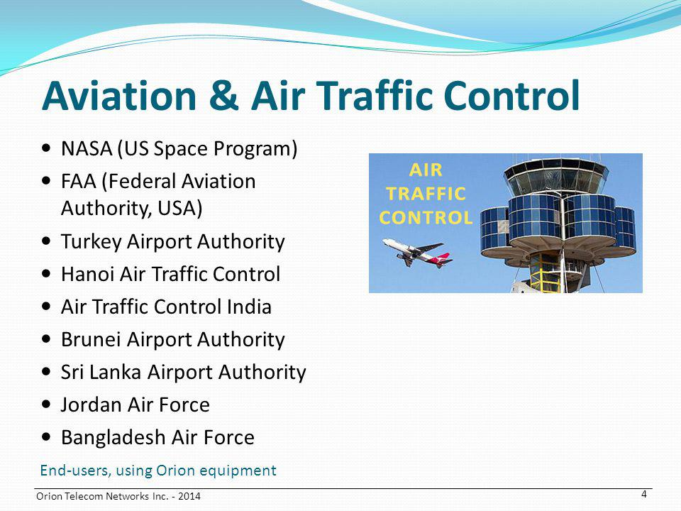 Aviation & Air Traffic Control